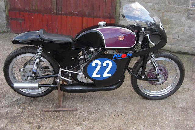 1964 Scott TT Racing 350 Prototype,