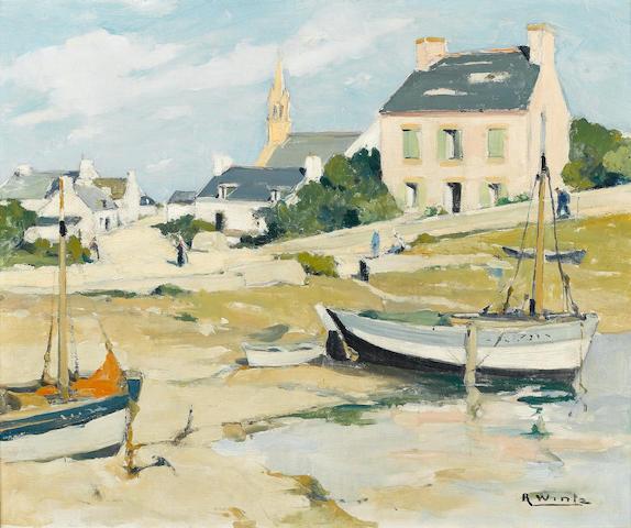 Raymond Wintz (French, 1884-1956) La maison rose
