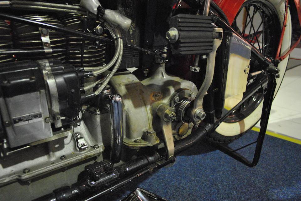 1936 Indian 1,265cc Model 436 'Upside Down' Four Engine no. DCF368M