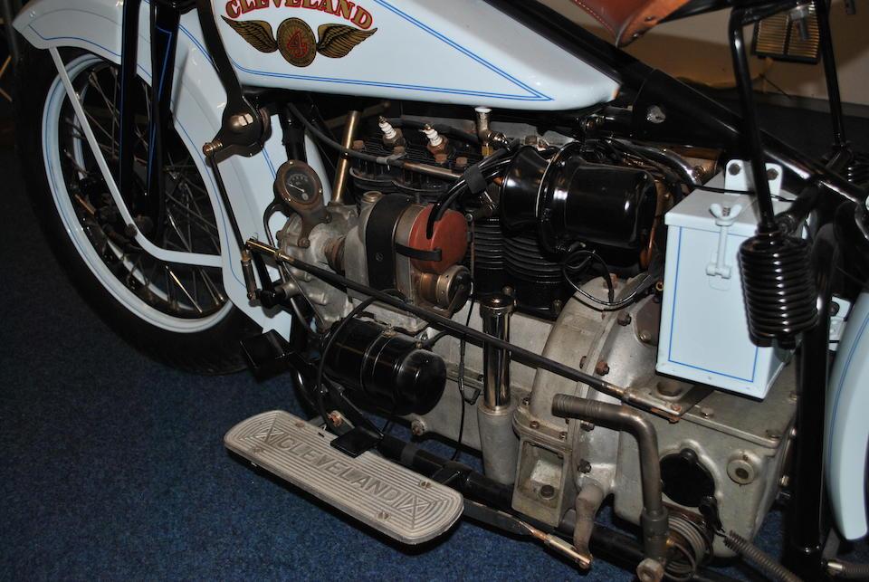 1929 Cleveland 61ci Tornado Four Frame no. 1258 Engine no. K1642