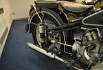 1953 BMW 594cc R68 Engine no. 651066