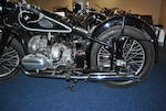 1938 BMW 494cc R51 Frame no. 514841 Engine no. 20735