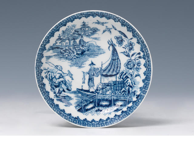 Isleworth saucers (typical crazing to underside)