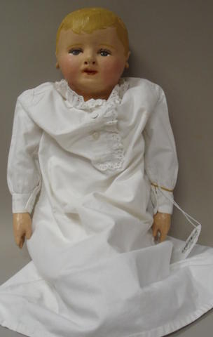Martha Chase cloth doll, American circa 1910
