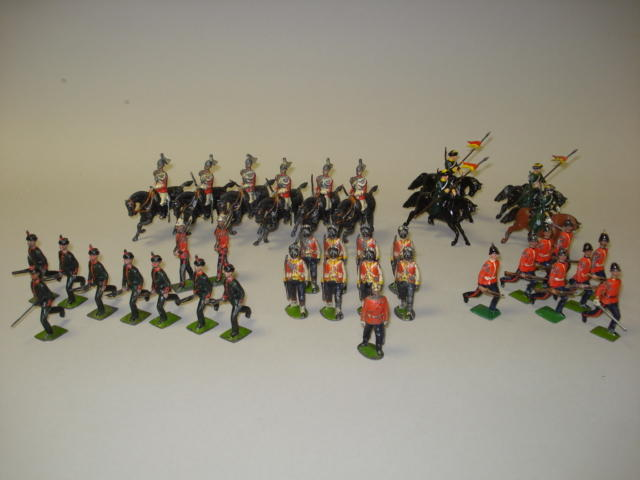 Britains set 98, King's Royal Rifle Corps 37