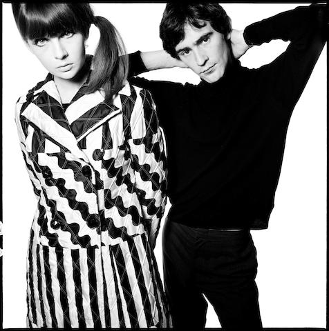 Chrissie Shrimpton and Ossie Clark, 1965