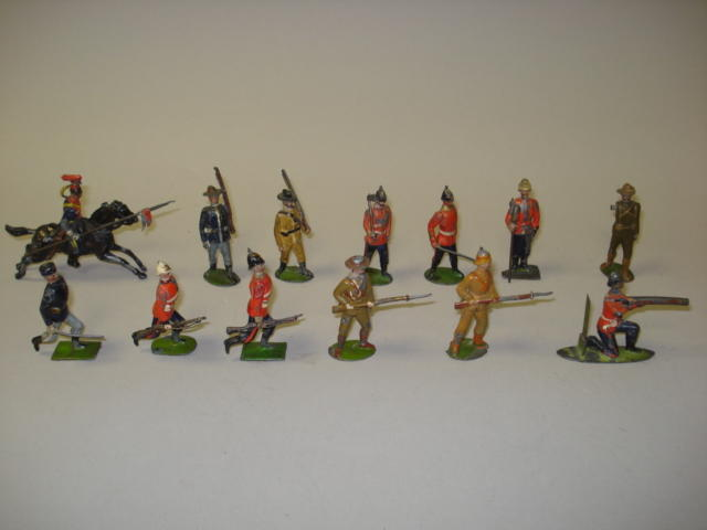 Britains early toy soldiers 13