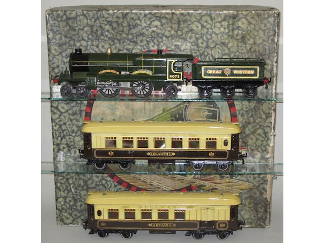 Hornby Series No.3E GW Cornish Riviera set