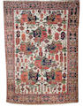An Afshar rug  South West Persia, 7 ft x 5 ft (212 x 151 cm)some wear,missing some fringes