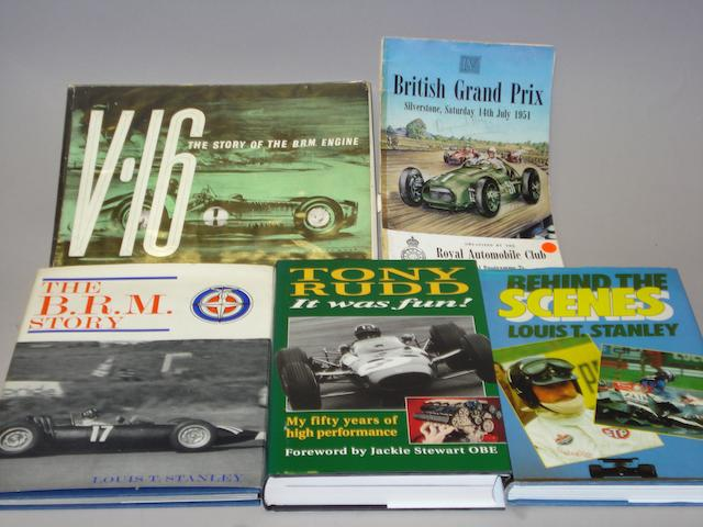 Five books relating to BRM,