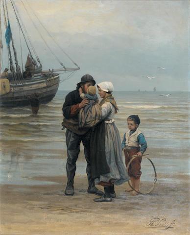 Philippe Lodewijk Sadée (Dutch, 1837-1904) The farwell