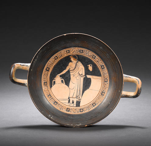 An Attic red-figure stemless kylix
