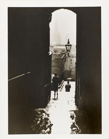 Norman Parkinson (British, 1913-1990) Edinburgh,  25.3 x 20.3cm (9 15/16 x 8in).