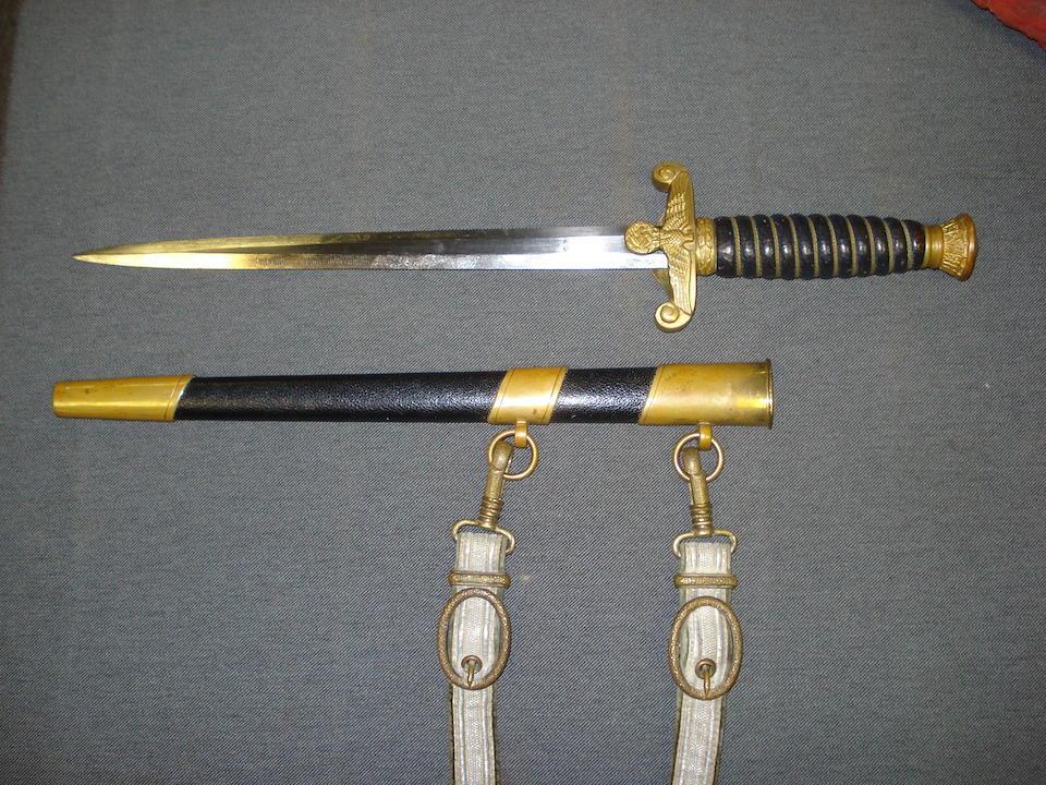 A Third Reich Water Customs Official's Dagger