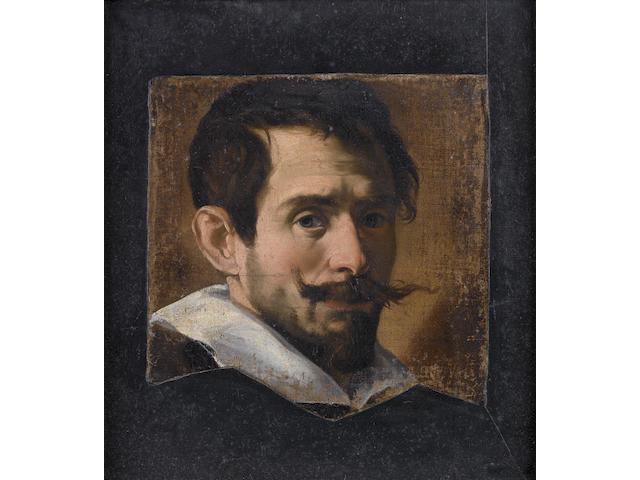 Lombard School, circa 1630 Portrait of a bearded man,