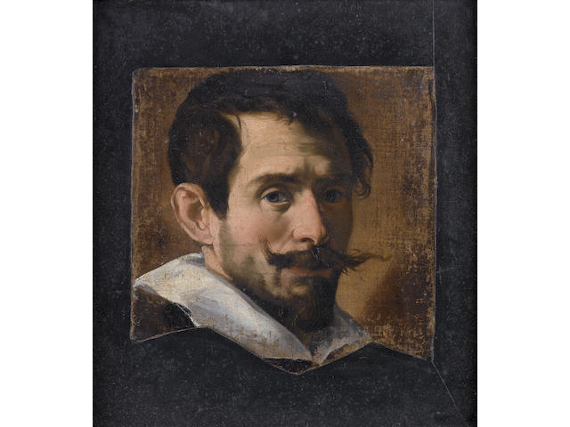 Lombard School, circa 1630 Portrait of a bearded man,
