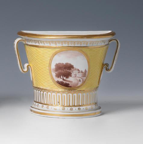 An interesting English Porcelain bough pot circa 1799-1808