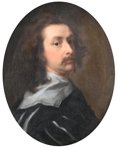 After Sir Anthony van Dyck, 18th Century Self-portrait of the artist