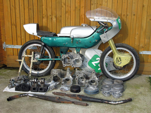 c.1962 Ariel 250cc Arrow Racing Motorcycle Engine no. T31074-G (see text)