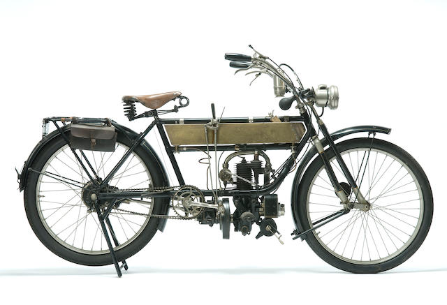 c.1913 FN 285cc Model 285 Single Frame no. 10926 Engine no. 2223