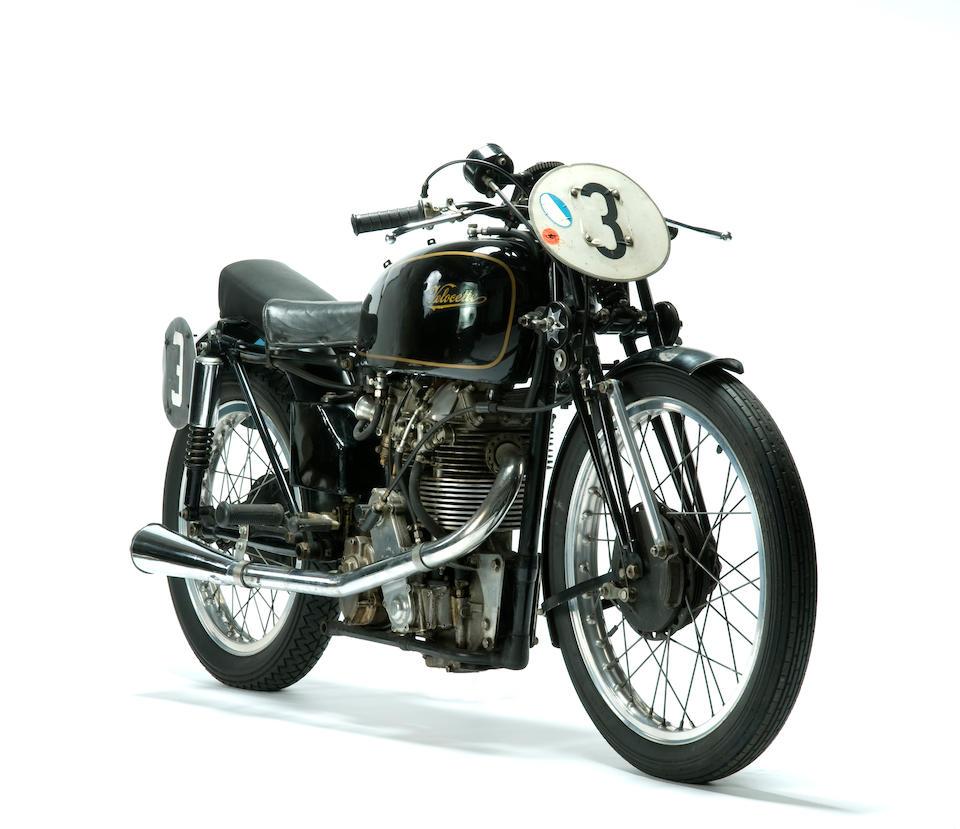 The ex-Ernie Thomas,1950 Velocette 348cc KTT MkVIII Racing Motorcycle  Frame no. 264 SF Engine no. 1083