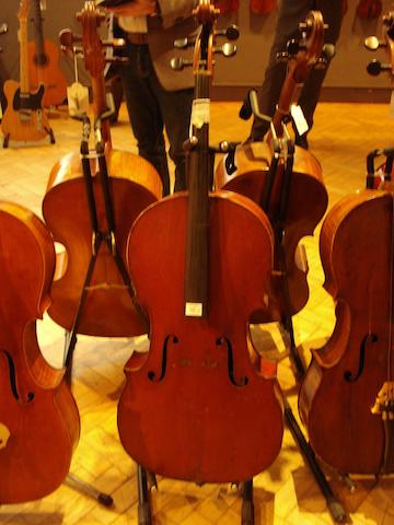 A French Cello of the Laberte School, circa 1910 (3)