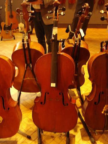 A French Cello of the Laberte School,  circa 1910 (3)