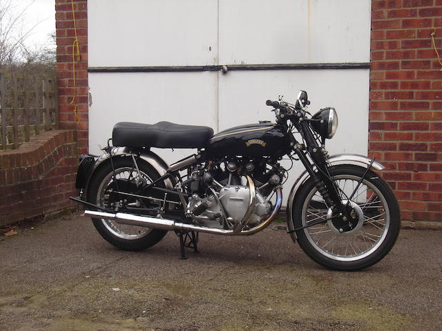 c.1950 Vincent 998cc Rapide Frame no. RC5087 Engine no. F10AB/1/1447
