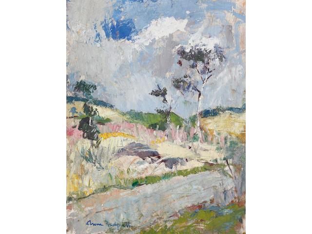 Anne Redpath, OBE RSA ARA LLD ARWS ROI RBA (British, 1895-1965) Border landscape (c1936)