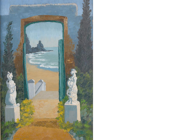 Sir Cedric Morris (British, 1889-1982) The Door to the Beach