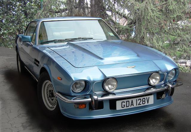 Bonhams 1980 Aston Martin V8 Oscar India Chassis No V8sor12195 Engine No 540 2195 5