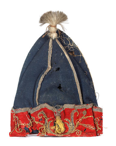 An Historic Grenadier Officers Embroidered Mitre Cap C.1750, As Worn By A Member Of H.R.H. Prince Ge