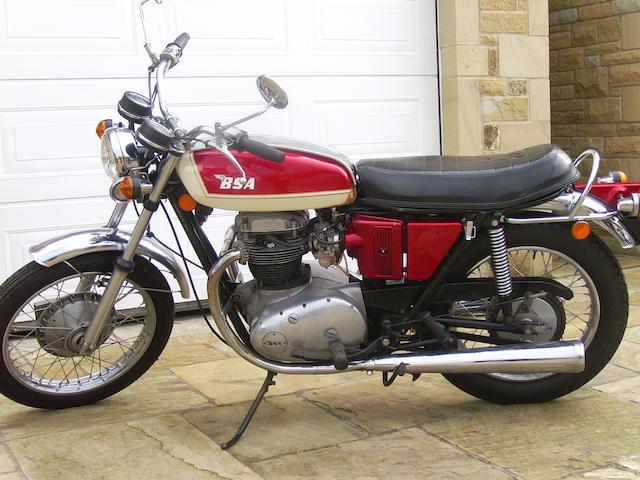 Last off the production line c.1973 BSA 649cc Lightning Frame no. JE00100 Engine no. JE00100