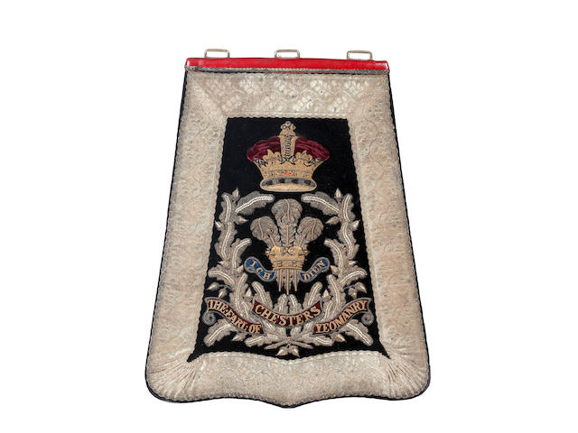 The Earl Of Chesters Yeomanry Cavalry Officer's Sabretache