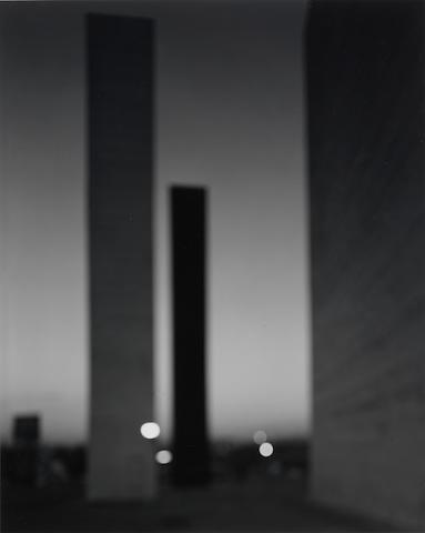 Hiroshi Sugimoto (Japanese, born 1948) Satellite City Tower, 2002 Image 58 x 46.5cm (22 3/4 x 18 1/4in)