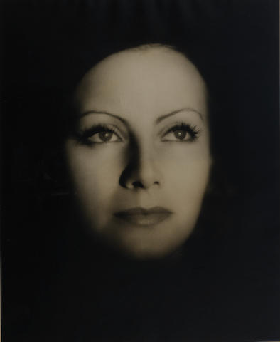 Clarence Sinclair Bull (American, 1895-1979) Greta Garbo for The Kiss, 1927