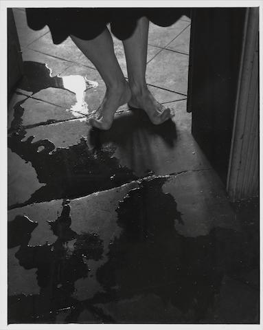 Manuel Alvarez Bravo (Mexican, 1902-2002), Manuel Alvarez Bravo, El Umbral, 1947, gelatin silver print, printed 1980s El Umbral (The Threshold), 1947 25.3 x 20.2cm (9 15/16 x 7 15/16in).
