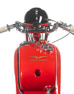 1938 Moto Guzzi 498cc GTC/L to Condor Specification Frame no. 9181 Engine no. 43163 (see text)