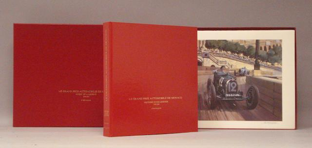 Yves Naquin: Le Grand Prix Automobile de Monaco; a rare presentation copy,