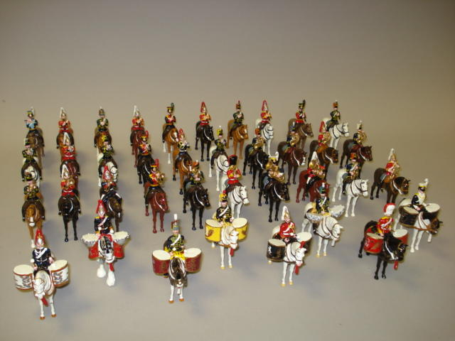 Ducal Combined Mounted Band of the British Cavalry Regiments 38