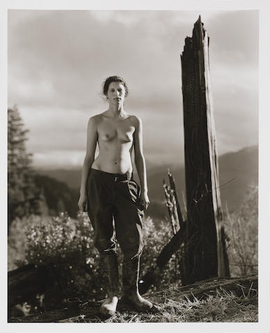 Jock Sturges (American, born 1947) Allegra, Northern California, 1999 50.7 x 40.3cm (19 15/16 x 15 7/8in).