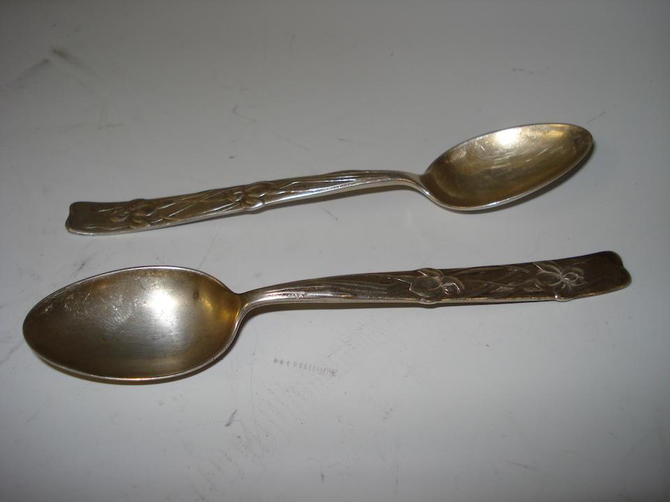 Tiffany & Co Two teaspoons