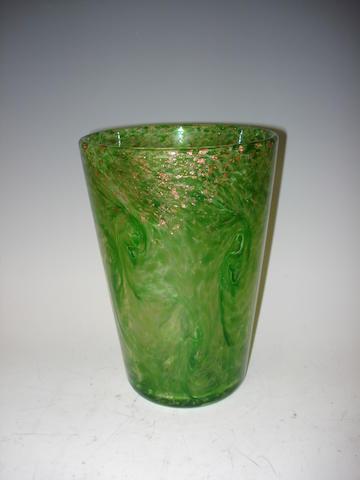 A Monart vase Shape OE