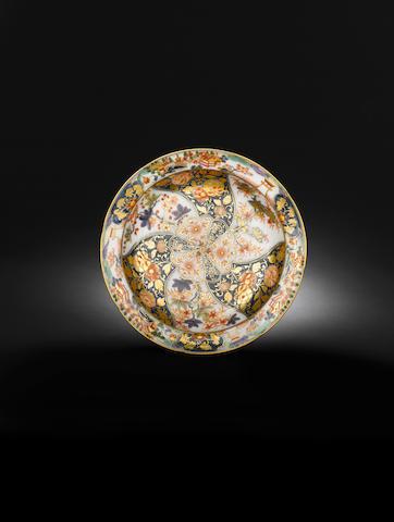 A very rare Meissen circular dish circa 1740