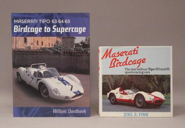 Two Maserati books,