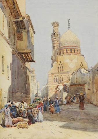Robert Weir Allan, RSA RWS RSW (British, 1852-1942) 'Cairo'