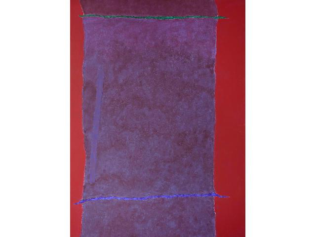 Theodoros Stamos (Greek, 1922-1997) Infinity Field, Lefkada Series, 1976