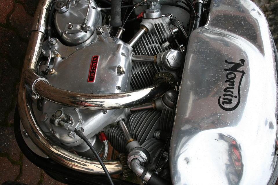 c.1954 Norton-Vincent 1,200cc 'Norvin' Frame no. J14 67199 Engine no. 1B/6842