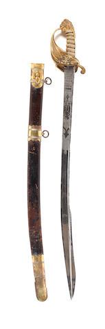 A Fine 1827 Pattern Naval Officer's Sword