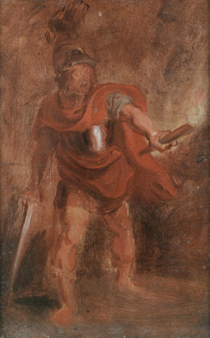 Studio of Sir Peter Paul Rubens (Siegen 1577-1640 Antwerp) Aeneas in the Underworld